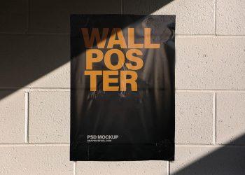 Wall Poster Mockups