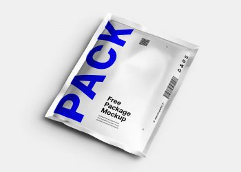 Aluminum Pouch Package Free Mockup