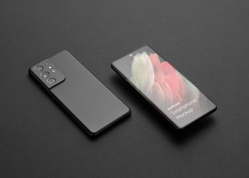 Android Smartphone Free Mockup