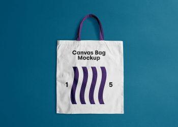 Canvas Tote Bag Free Mockup