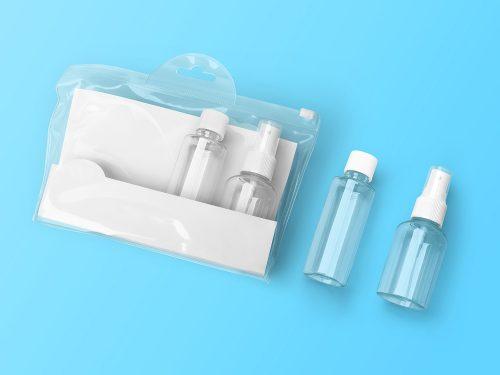 Cosmetic Kit Free Mockup