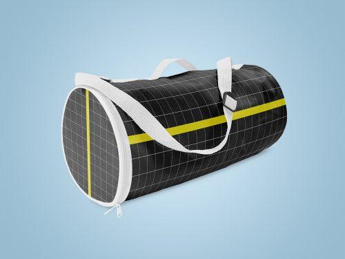 Free Duffle Bag Mockup