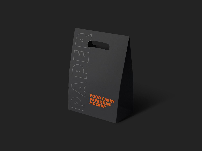 Paper Bag Free Mockup