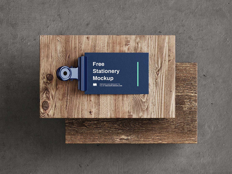 Stationery Free Mockup