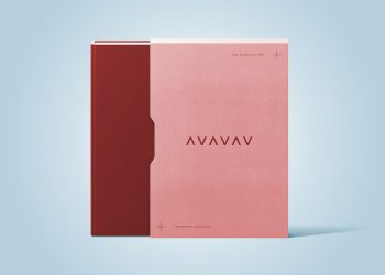 Book with a Slipcase Mockup