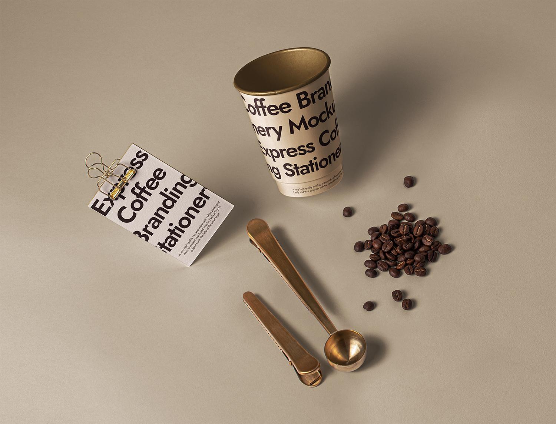 Branding Coffee Set Free Mockup