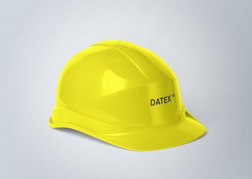 Construction Helmet Free Mockup