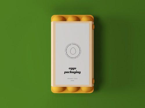 Egg Packaging Free Mockup