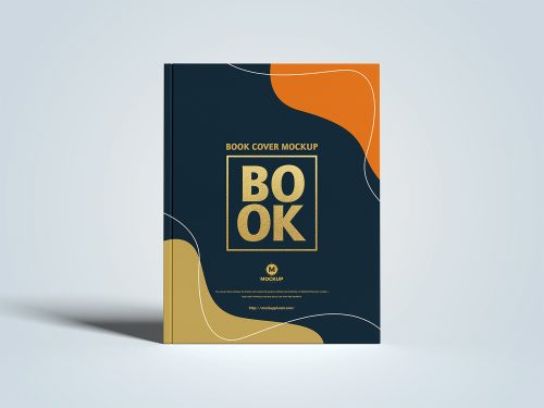 Free Letter Size Cover Branding Book Mockup