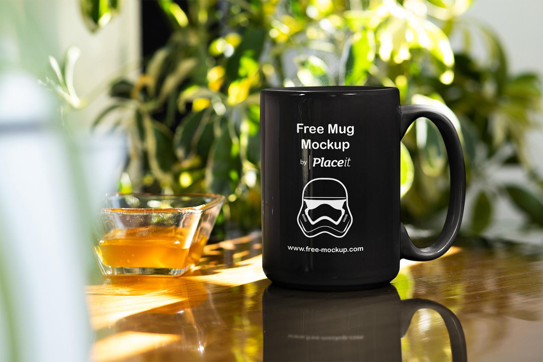 Free Mug Online Mockup