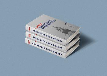 Hardcover Book PSD Free Mockup