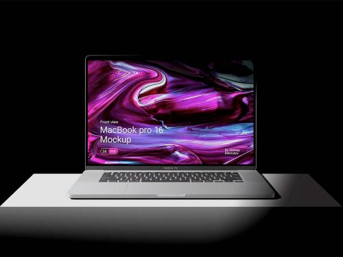 MacBook Pro 16 Free Mockup