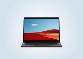 Microsoft Surface Pro X Free Mockup