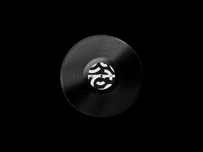 Vinyl Record Free Mockup