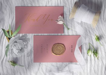 Wedding Invitation Card Free Mockups