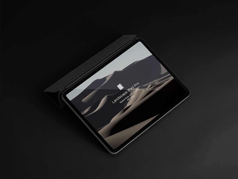 iPad Pro PSD Free Mockup