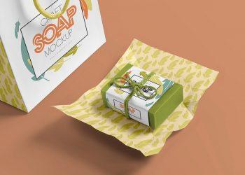 Craft Soap Bar Free Mockup