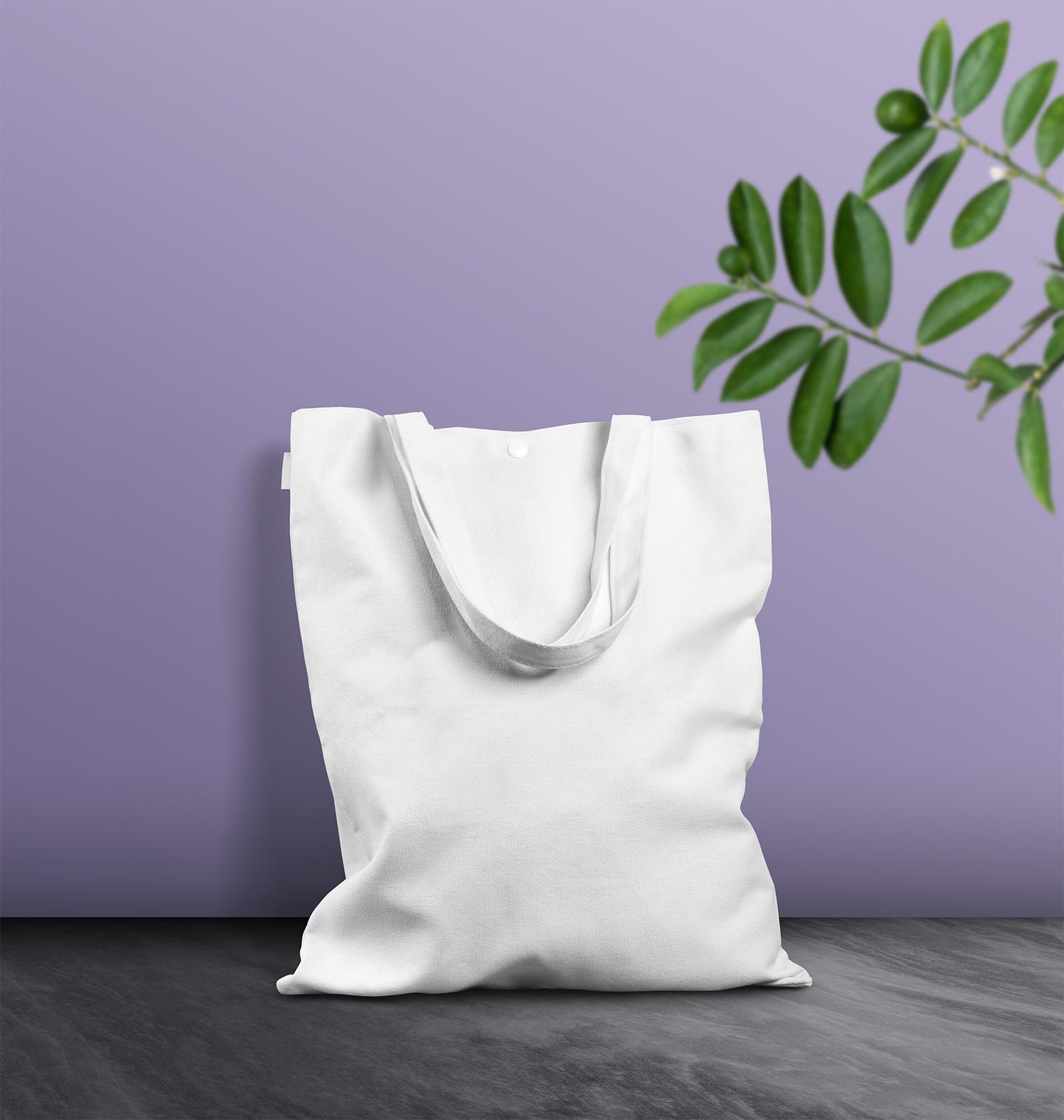 Free Canvas Bag Mockup