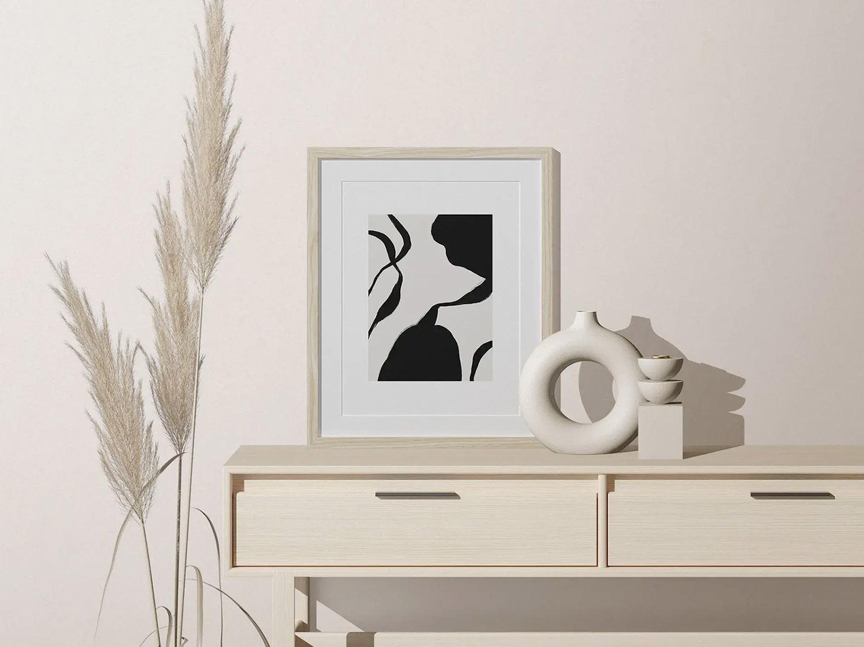 Free Minimalist Picture Frame Mockup