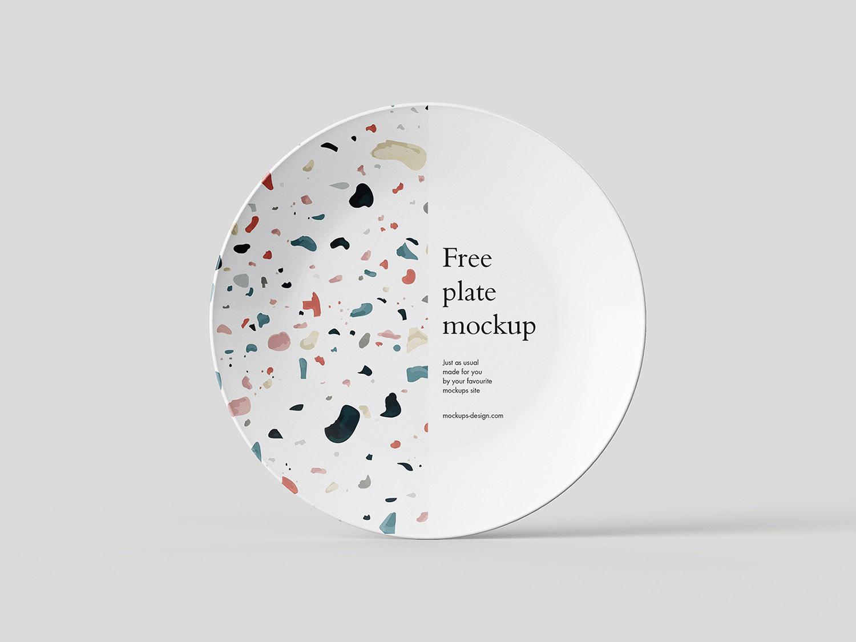 Plate PSD Free Mockup
