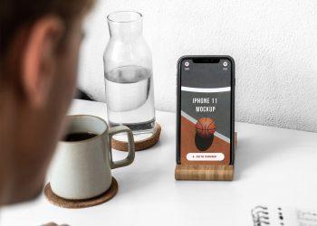 iPhone 11 Pro UI/UX Mockup